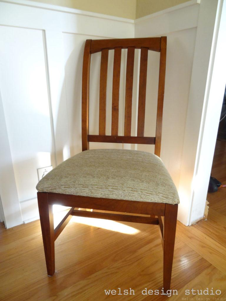 Diy Dining Chair Slipcovers Welsh, How To Make Chair Covers For Dining Room