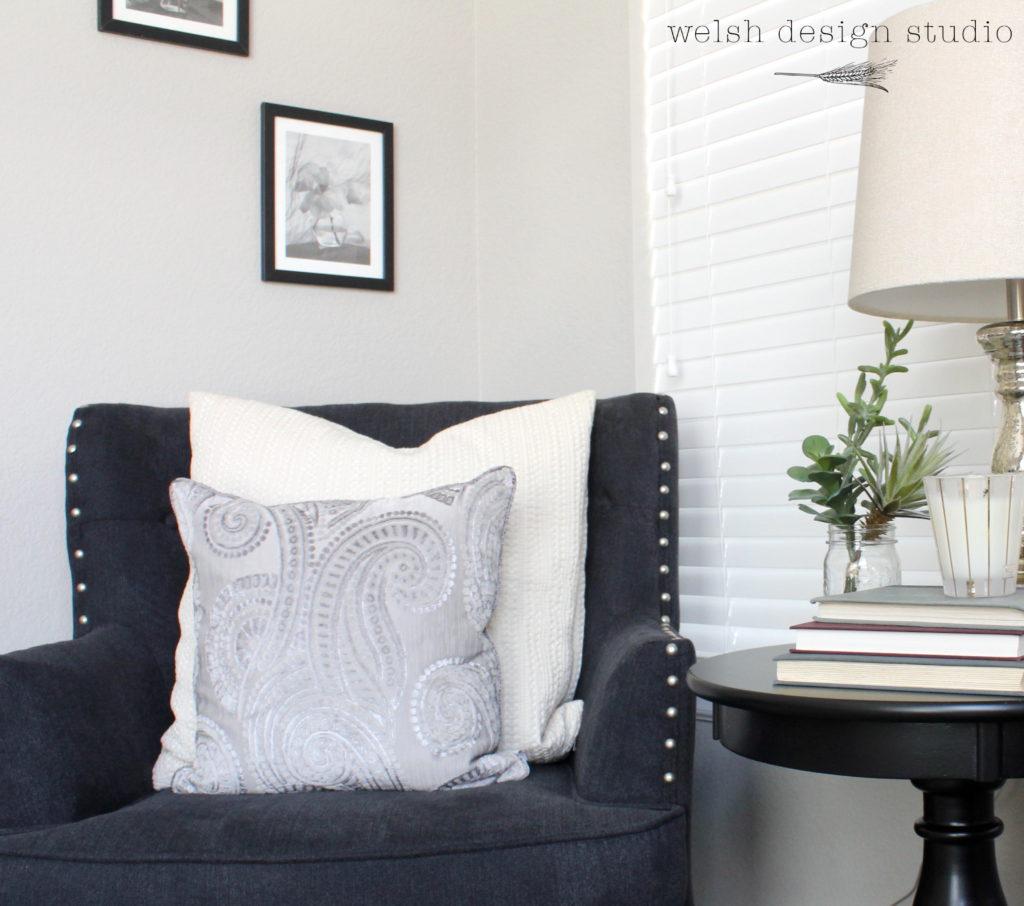 Creating A Cozy Master Bedroom Reading Nook Welsh Design Studio