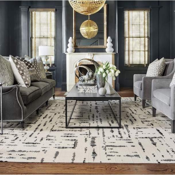 The Beauty Utility Of Carpet Tiles, Using Carpet Tiles Living Room
