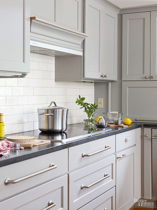 Beautiful Kitchen Cabinet Paint Colors, Is Grey A Good Color For Kitchen Cabinets